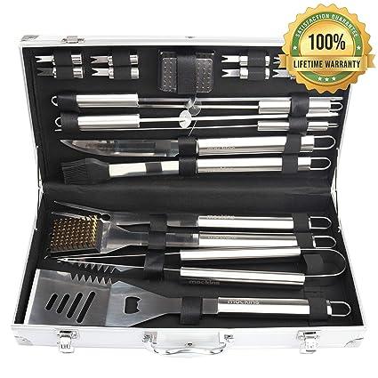 Amazon.com: Mockins - conjunto de herramientas de acero ...