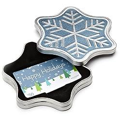 Amazon Gift Card in a Snowflake Tin
