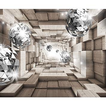 Decomonkey | Fototapete 3d Abstrakt Effekt 400x280 Cm XL | Design Tapete |  Fototapeten | Vlies