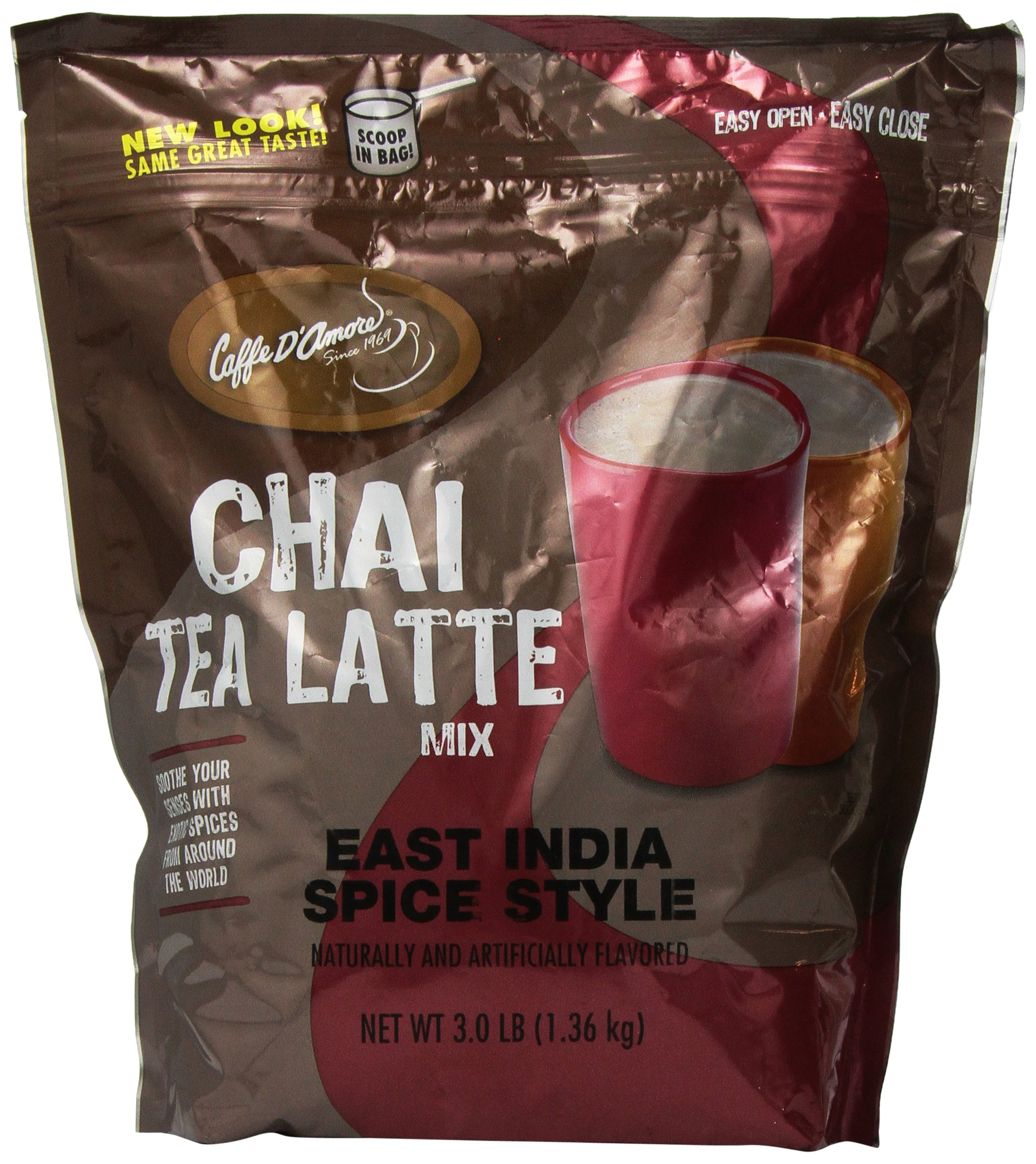 Chai Amore East India Spice Tea Latte Blended Drink Mix, 3 Pounds