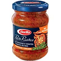 Barilla Sauce Pesto Rustico Tomates Séchées 175 g
