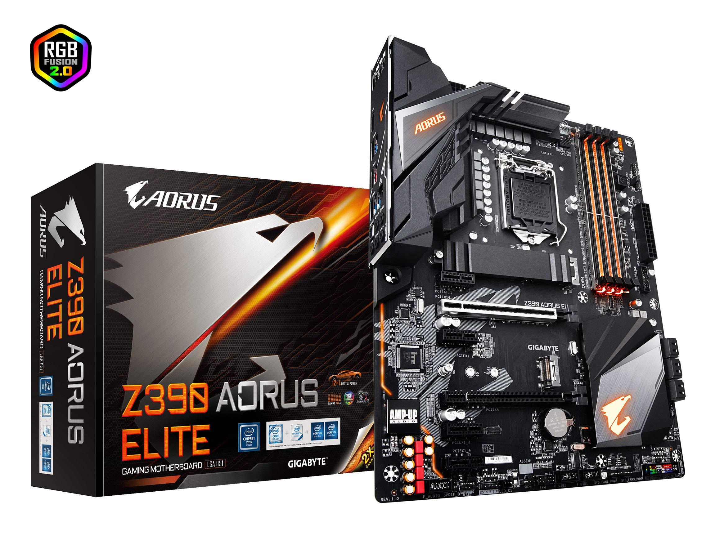 Gigabyte Z390 Aorus Elite (intel Lga1151/z390/atx/2xm.2/r...