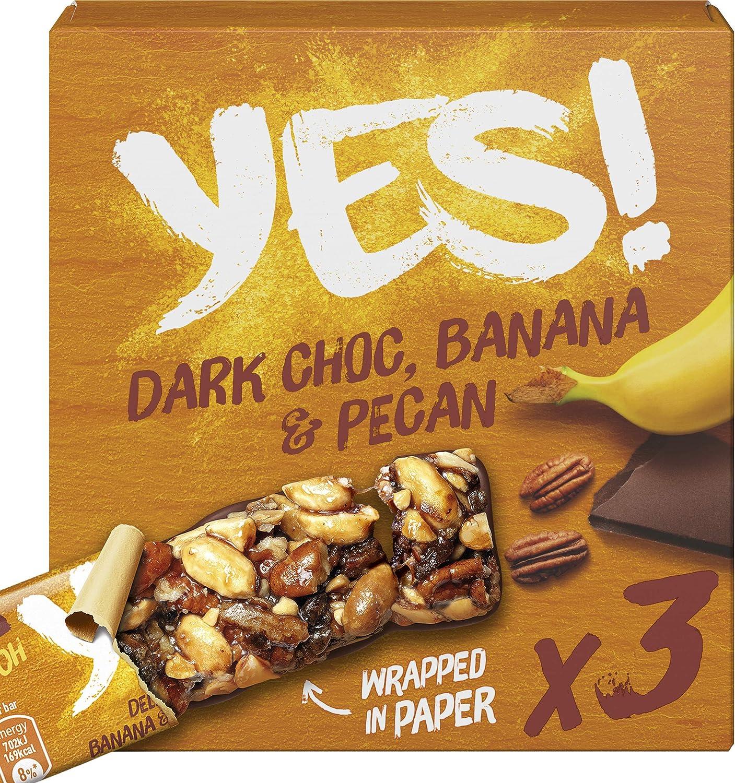 Yes! Barrita De Nueces Pacanas Con Cobertura De Chocolate y ...