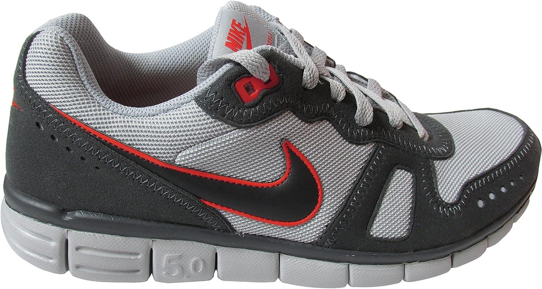 Nike Free 5,0 Waffle AC gris/rojo Zapatillas de running, color, talla 43: Amazon.es: Zapatos y complementos