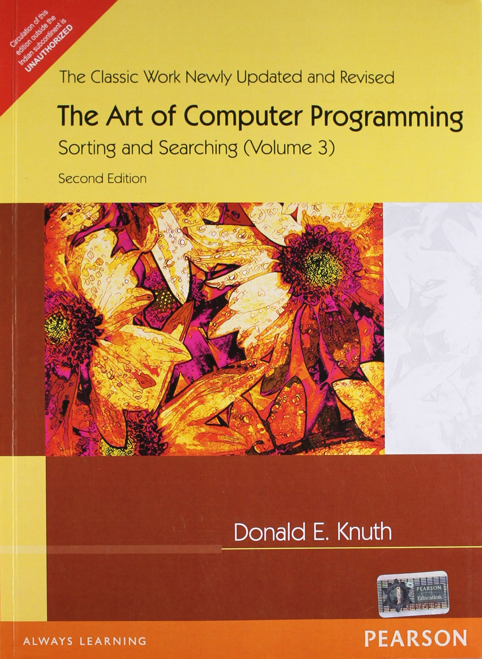 The art of computer programming fundamental algorithms v 1 amazon art of computer programming volume 3 fandeluxe Choice Image
