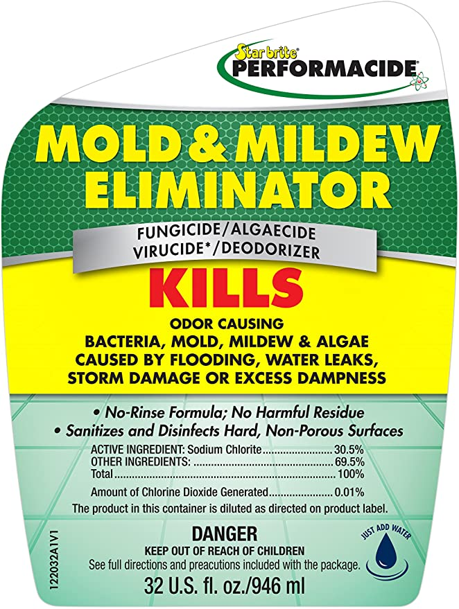 Performacide 12 Mold and Mildew Eliminator Pro Pack 32 oz