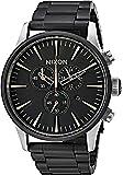 Nixon Men's 'Sentry Chrono' Quartz Stainless Steel Casual Watch, Color:Black (Model: A3862541-00)