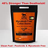 UK & World's Strongest Coffee   48% Stronger Than Death Wish / Deathwish Coffee   Seriously & Extremely Very Extra Strong High Caffeine Coffee Beans 227g   Arabica + AAA Robusta Coffee   Good as Organic – Lab Verified Pesticide + Mycotoxin Free Coffee – Bulletproof / Paleo Coffee   Roasted Dark – Strong & Smooth like Italian Espresso Roast Coffee   Lean Caffeine BEANS 227g - 8oz