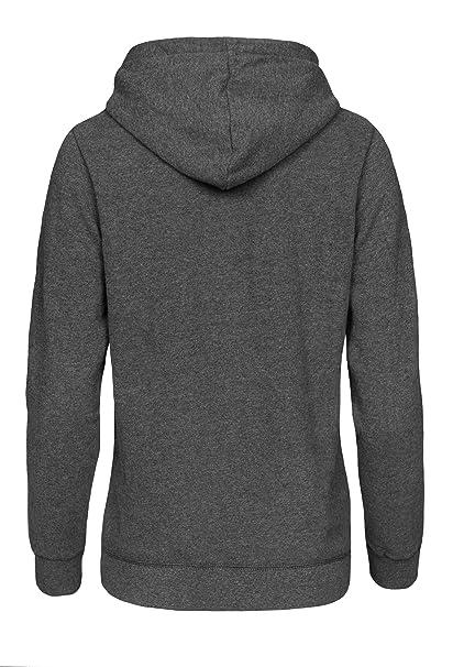 Cindeyar Damen Hoodie Pullover Kapuzenpullover Langarm Baumwoll Mischung Sweatshirt Jacke Mantel Outwear