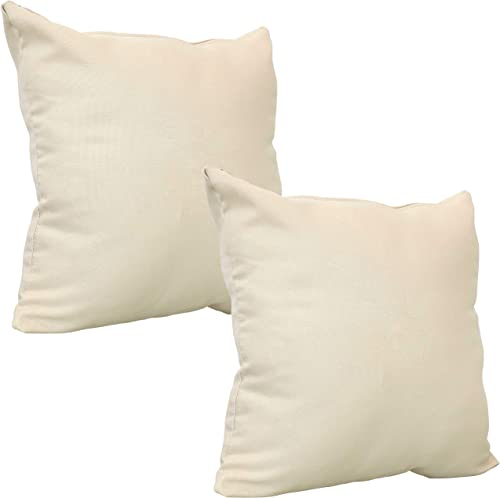 Sunnydaze Set of 2 Outdoor Decorative Throw Pillow
