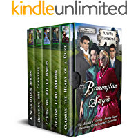 The Barrington Saga: Sweet and Clean Regency Romance (His Majesty's Hounds - Family Sagas)