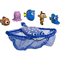 SwimWays Disney Finding Dory Shell Race Dive Game Toy, Finding Dory Mr. Ray, Multi Color, 20.3 cm