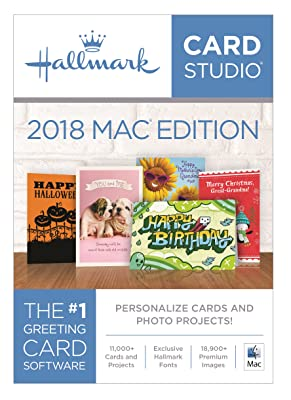 Hallmark Card Studio 2018 Mac Edition [Download]