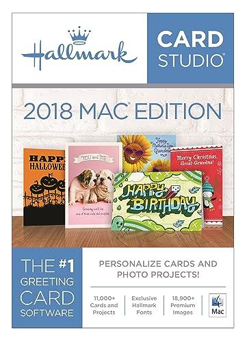 Hallmark Card Studio 2018 Mac Edition [Download]
