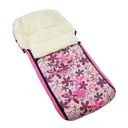 Los bebés-Dreams saco de abrigo de invierno rosa flores de ...