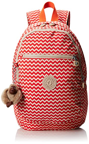 03330afbf8 Amazon.com: Kipling Challenger II Backpack, Chevron Print, One Size ...