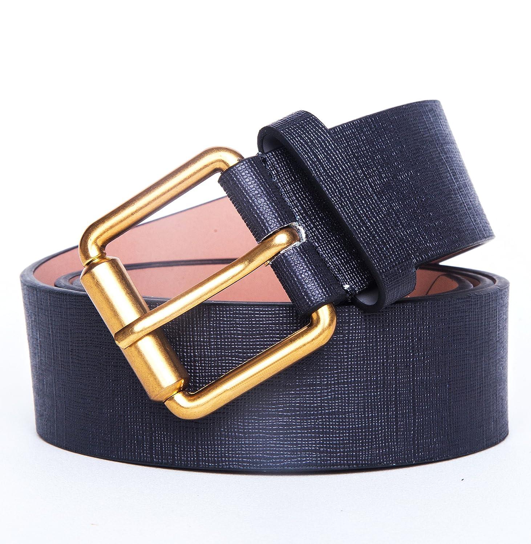 e1c416990f5 TangSong Ceinture de cuir à boucle ardillon de luxe pour homme  Amazon.fr   Vêtements et accessoires