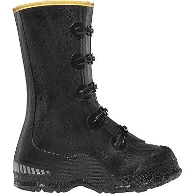 """ZXT Buckle Deep Heel Overshoe 14"""" Black (00267140)  Waterproof  Insulated Modern Comfortable Hunting Combat Boot Best For Mud Snow"""