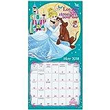 2018 Disney Princess Wall Calendar