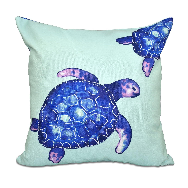 E by design O5PAN466GR28-20 Printed Outdoor Pillow