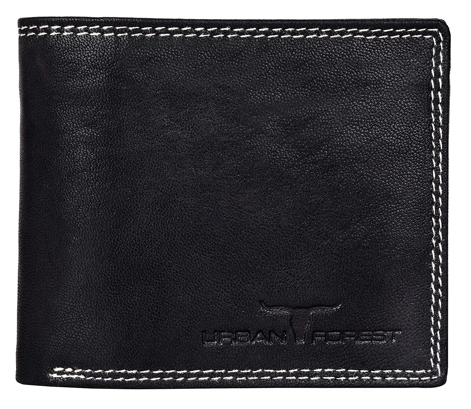 Buy Urban Forest Detroit Black Mens Leather Wallet at Amazon.in