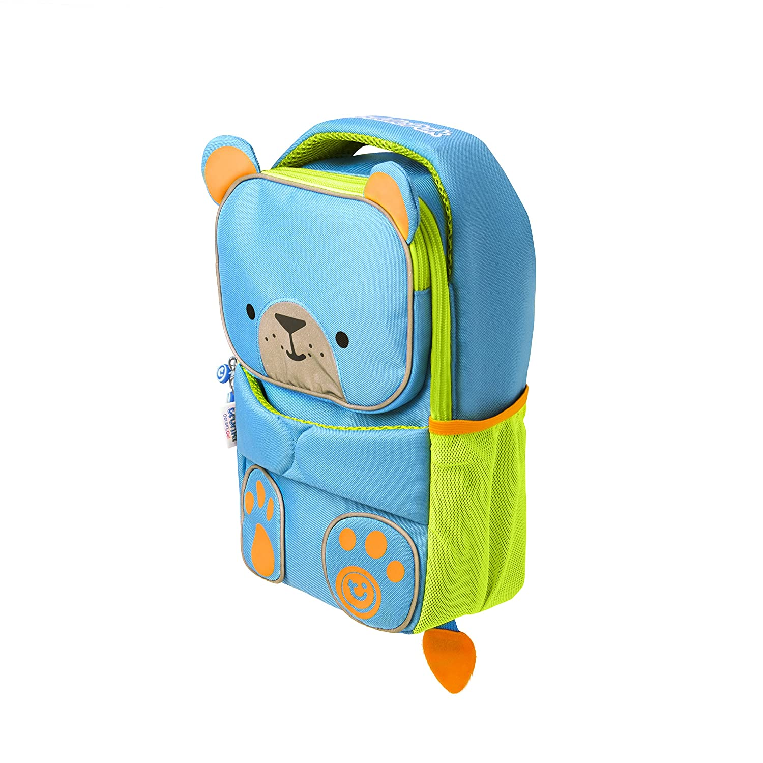 554375870bbb Trunki Toddler s Backpack – Hi-Viz Little Children s Pre School Rucksack - ToddlePak  Bert (Blue)  Amazon.in  Bags