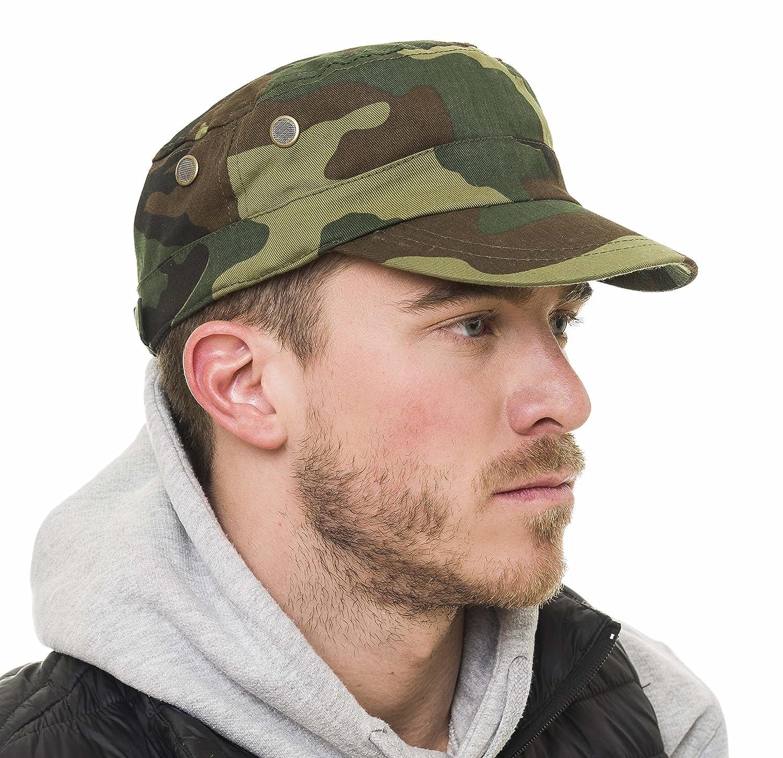 Don Pañuelo Hat for Men Anti UV Sunburn Lightweight Breathable Cap One Size