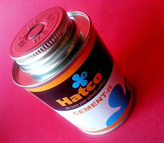 Pegamento parches neumaticos 250 ml Hatco para reparacion ...