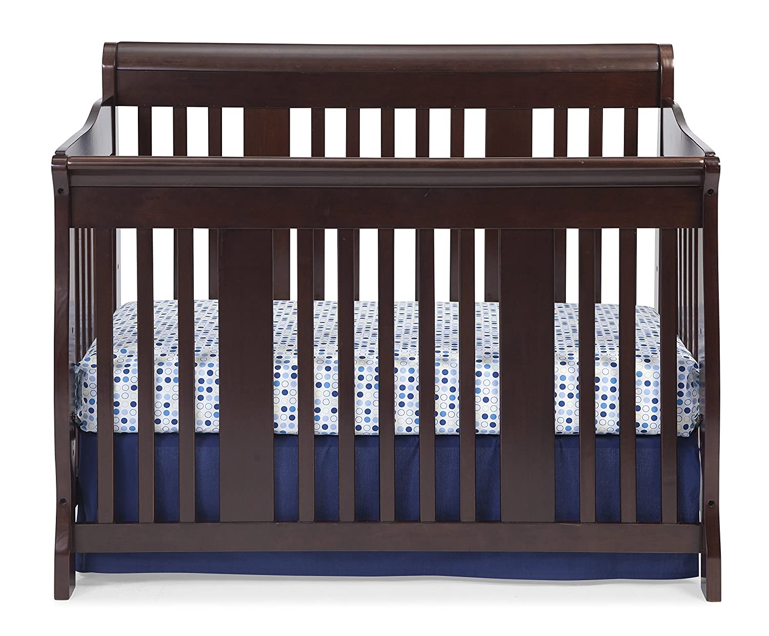 Baby cribs amazon - Amazon Com Stork Craft Tuscany 4 In 1 Convertible Crib Espresso Convertible Cribs Baby