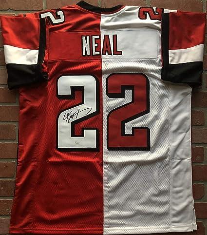 wholesale dealer ecf62 dc71c Keanu Neal autographed signed jersey NFL Atlanta Falcons JSA ...