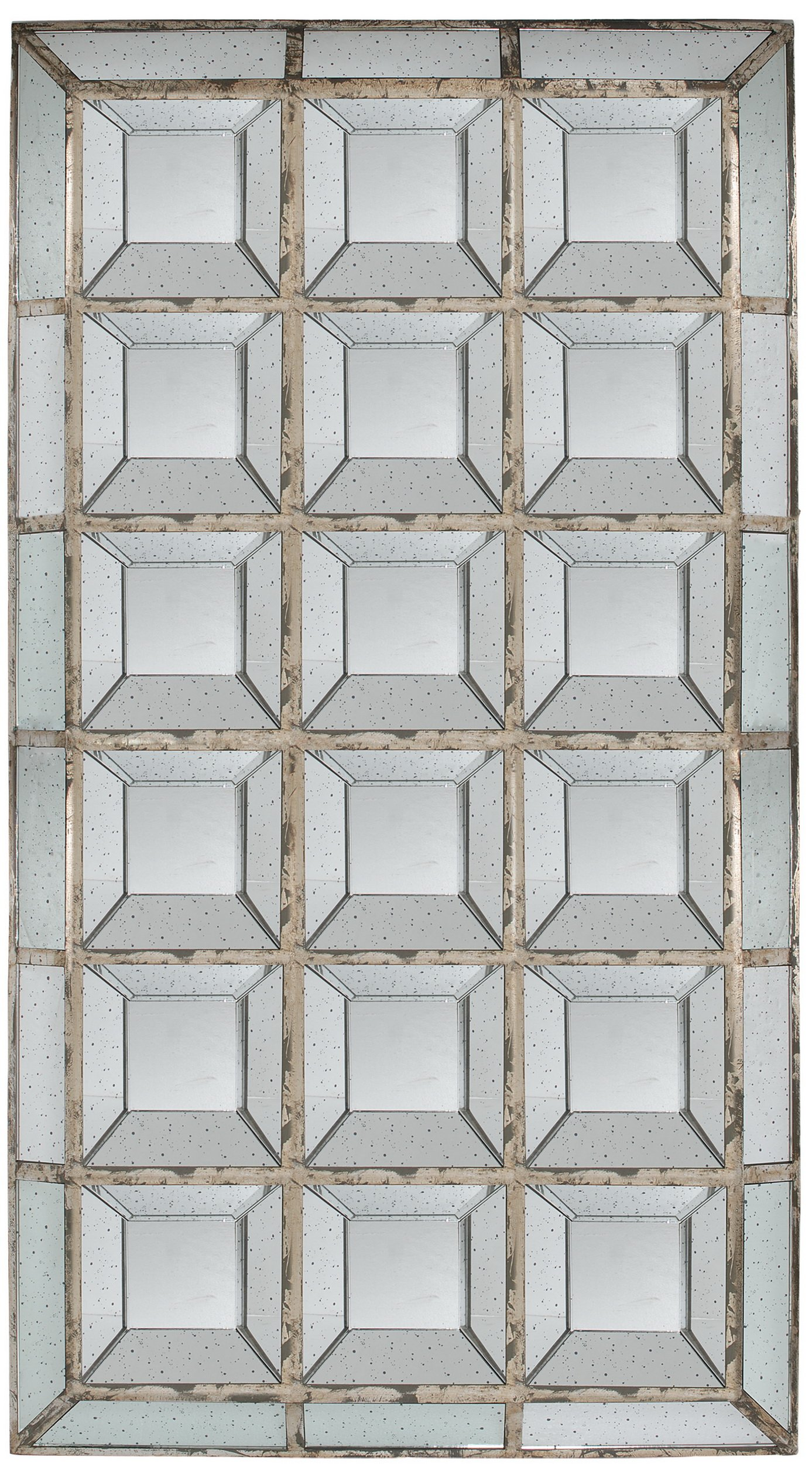 A&B Home Cubix Mirror, 46.1 by 3.2 by 82.7-Inch