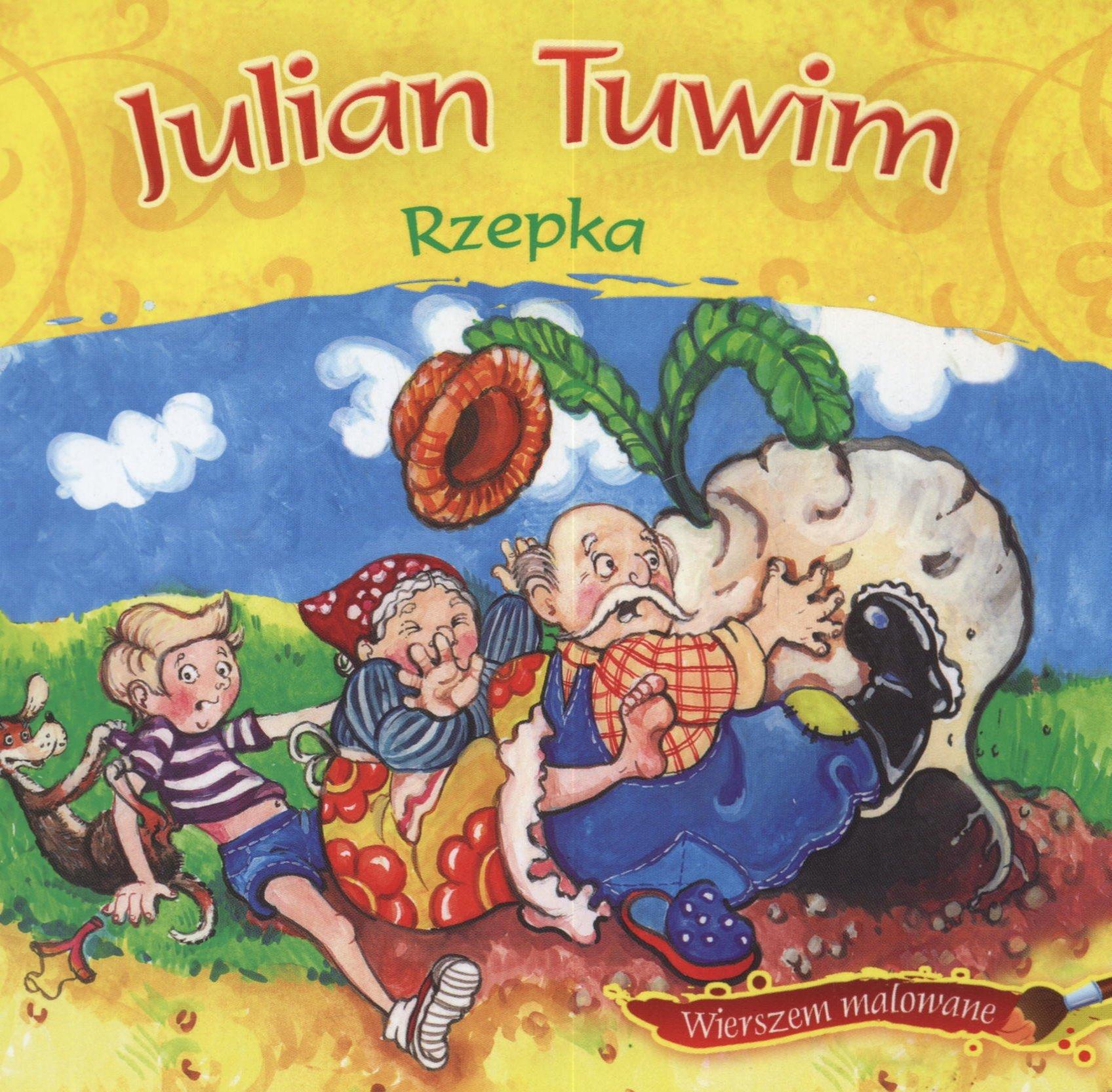Rzepka Wierszem Malowane Amazones Julian Tuwim Libros En