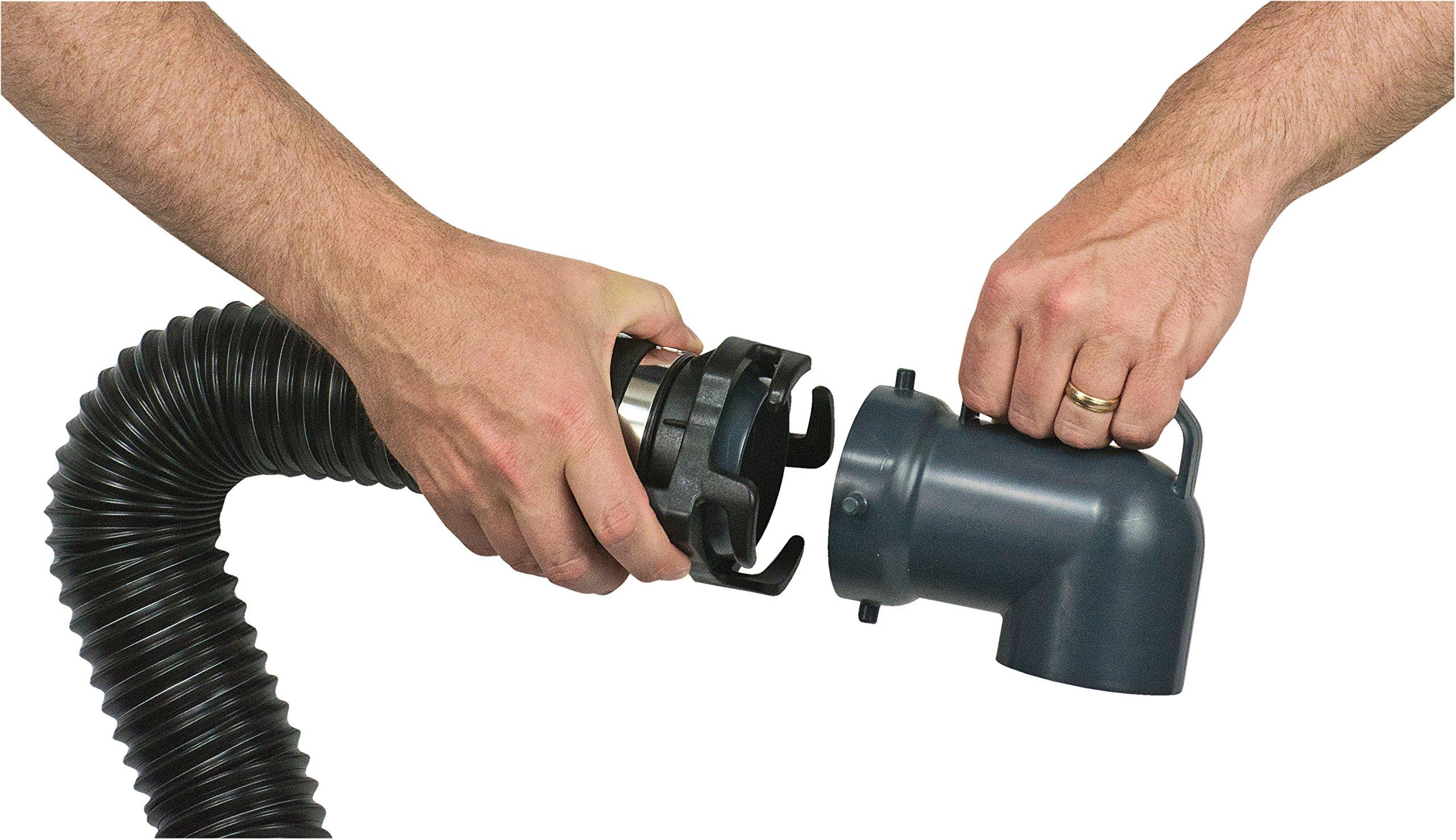 SmartTote2 RV Portable Waste Tote Tank - 4 Wheels - 35 Gallon - Thetford 40519 by SmartTote2 (Image #9)
