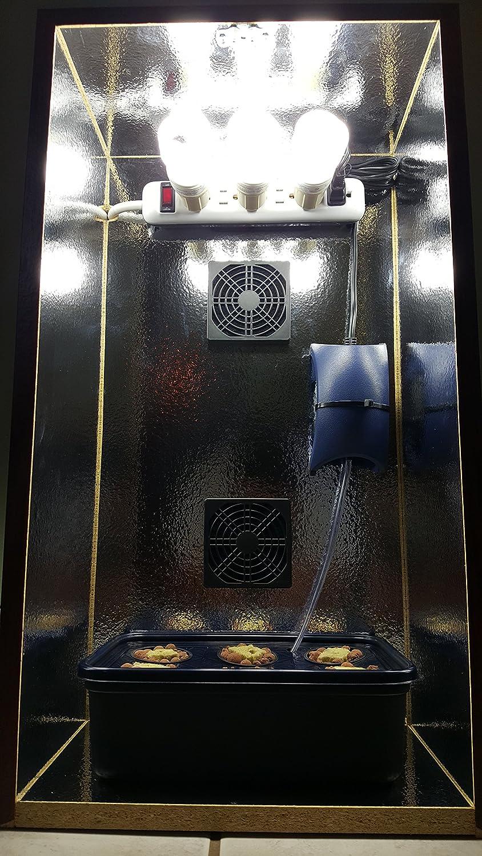 Hydroponic Speaker Grow Box Incognito Design