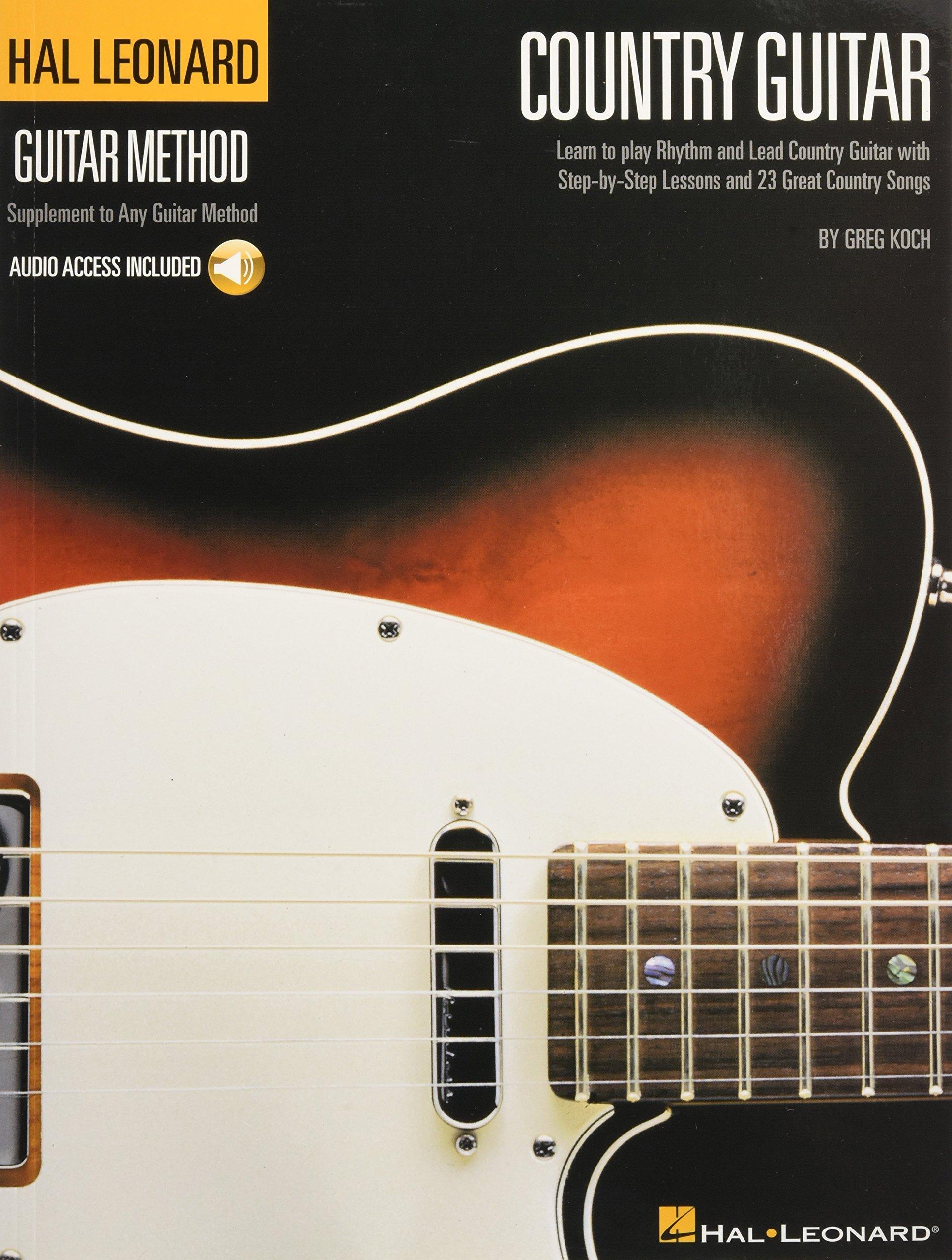 Country Guitar With CD Audio Hal Leonard Guitar Method: Amazon.es: Greg Koch: Libros en idiomas extranjeros