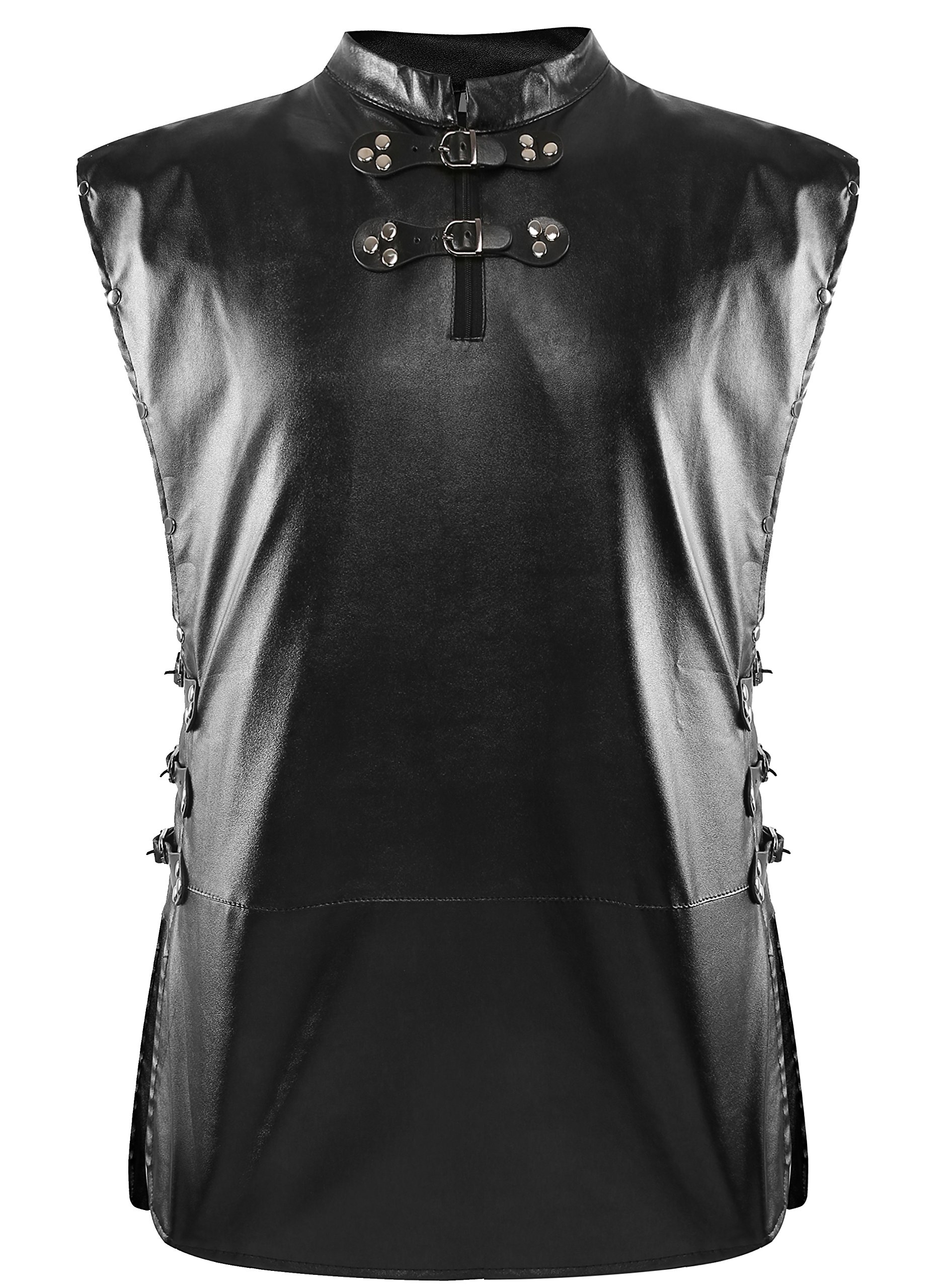 1stvital Jon Snow Knights Watch Cosplay Halloween Costume Cape Outfit Men's XXX-Large by 1stvital (Image #3)