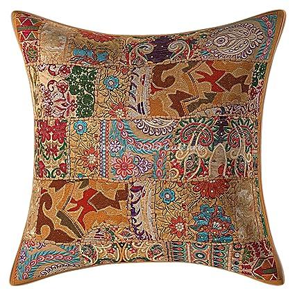 Amazon.com: Stylo Culture Ethnic Decorative Large Throw ...