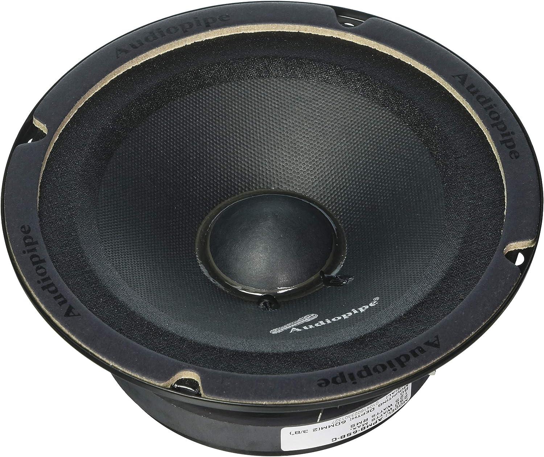 2 Audiopipe APMB-8SB-C 8 Inch 250W Low Mid Frequency Midwoofer Car Loudspeakers