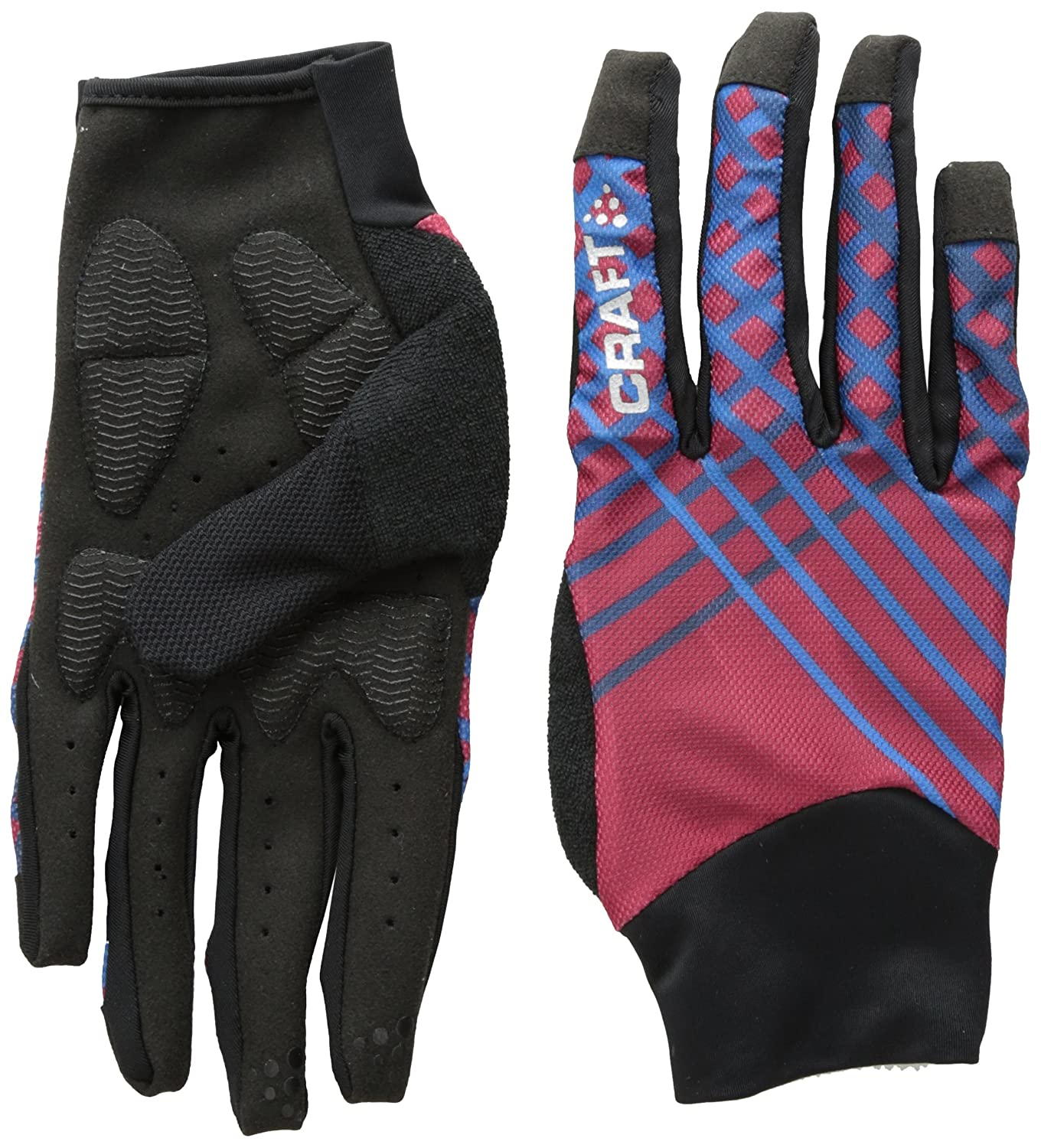 Amazon.com  Craft Sportswear Charge Running Training Bike Cycling  Reflective Gloves with Gel Inserts  Sports   Outdoors 578983a1f