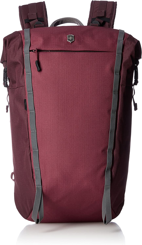 Victorinox Altmont Active Rolltop Compact Laptop Backpack, Burgundy, 18.9-inch