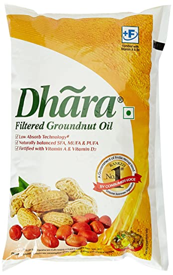 Dhara Oil, Groundnut 1L