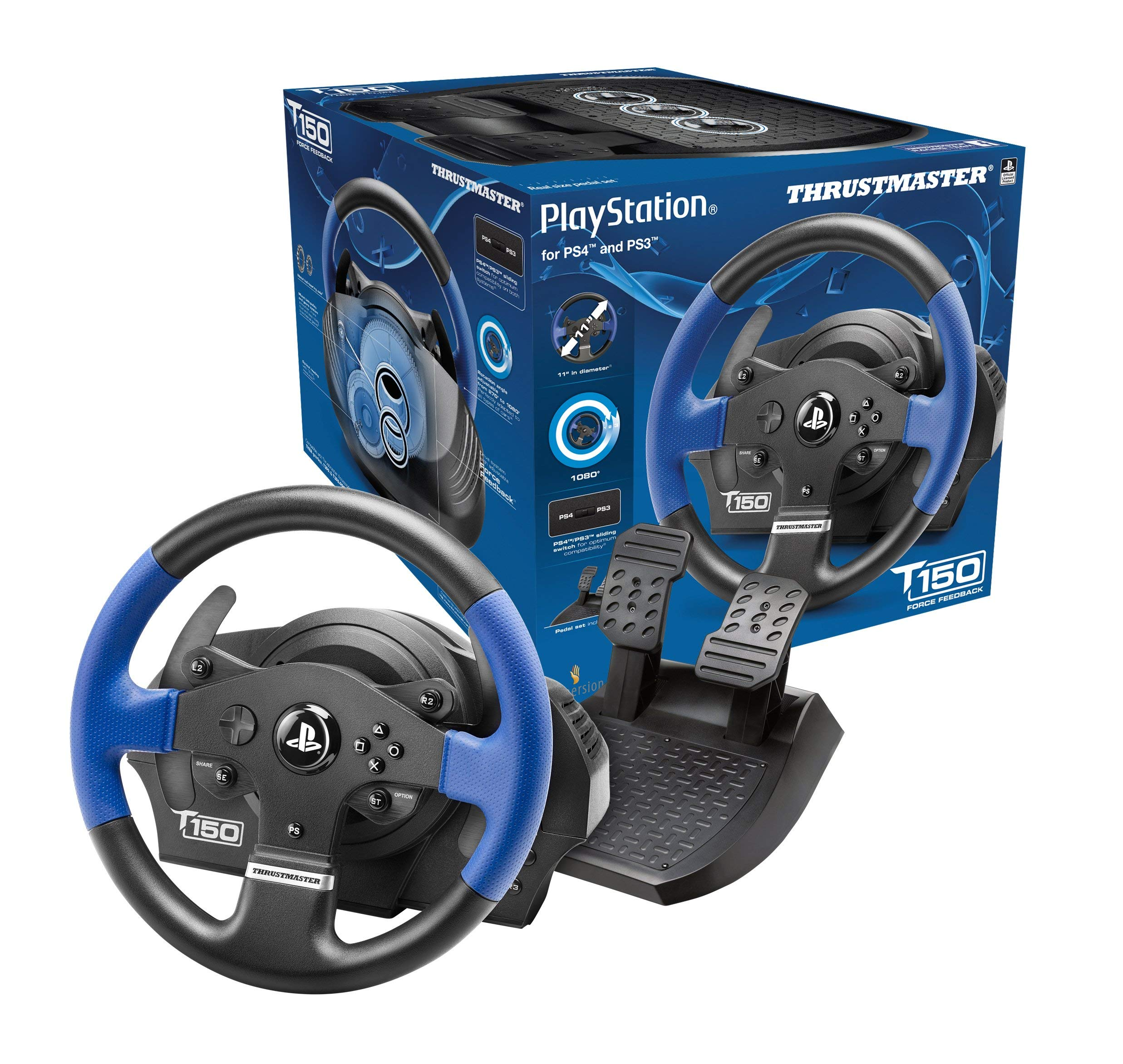Thrustmaster T150 RS Racing Wheel for PlayStation4, PlayStation3 and PC by ThrustMaster (Image #2)