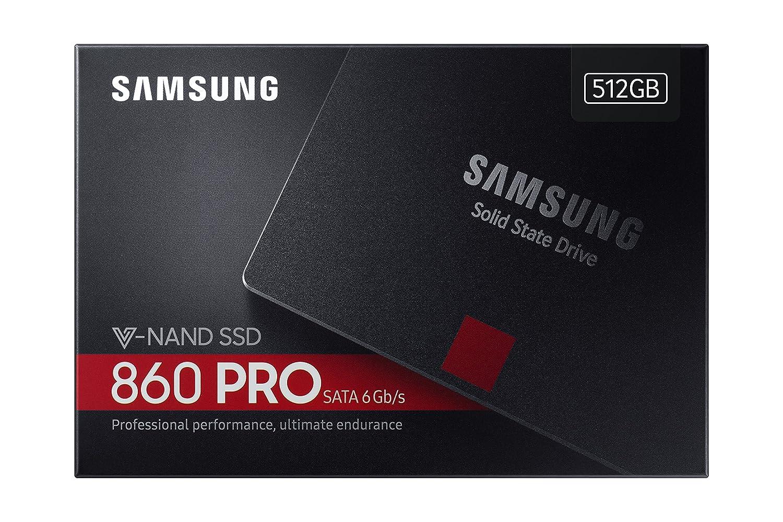 Samsung MZ-76P1T0B//EU 1 TB 860 Pro Sata III 64L V NAND Solid State Drive Black