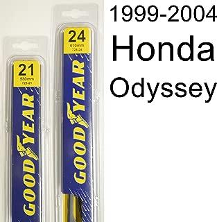 "product image for Honda Odyssey (1999-2004) Wiper Blade Kit - Set Includes 24"" (Driver Side), 21"" (Passenger Side) (2 Blades Total)"