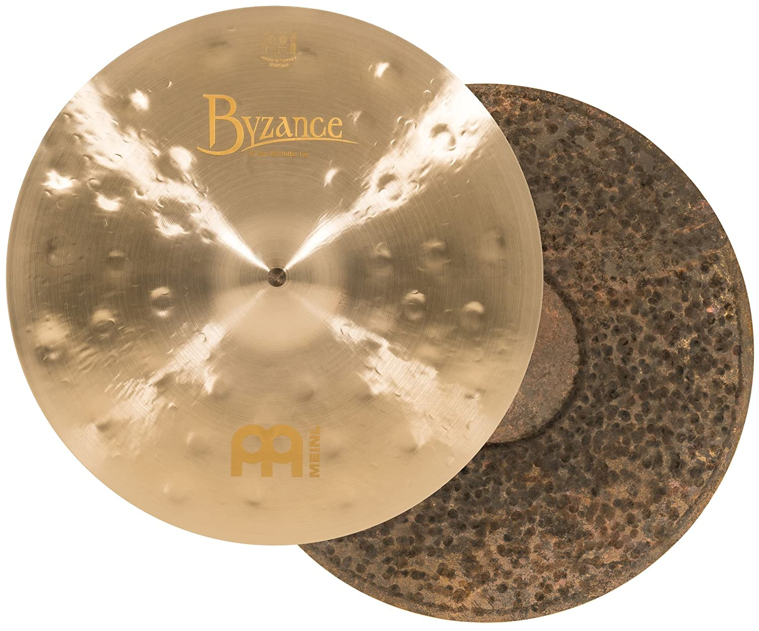 MEINL Cymbals マイネル Byzance Jazz Series ハイハットシンバル 13