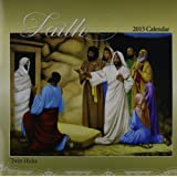 Shades of Color 12 by 12 Inches 2015 Faith African American Calendar (15HI)