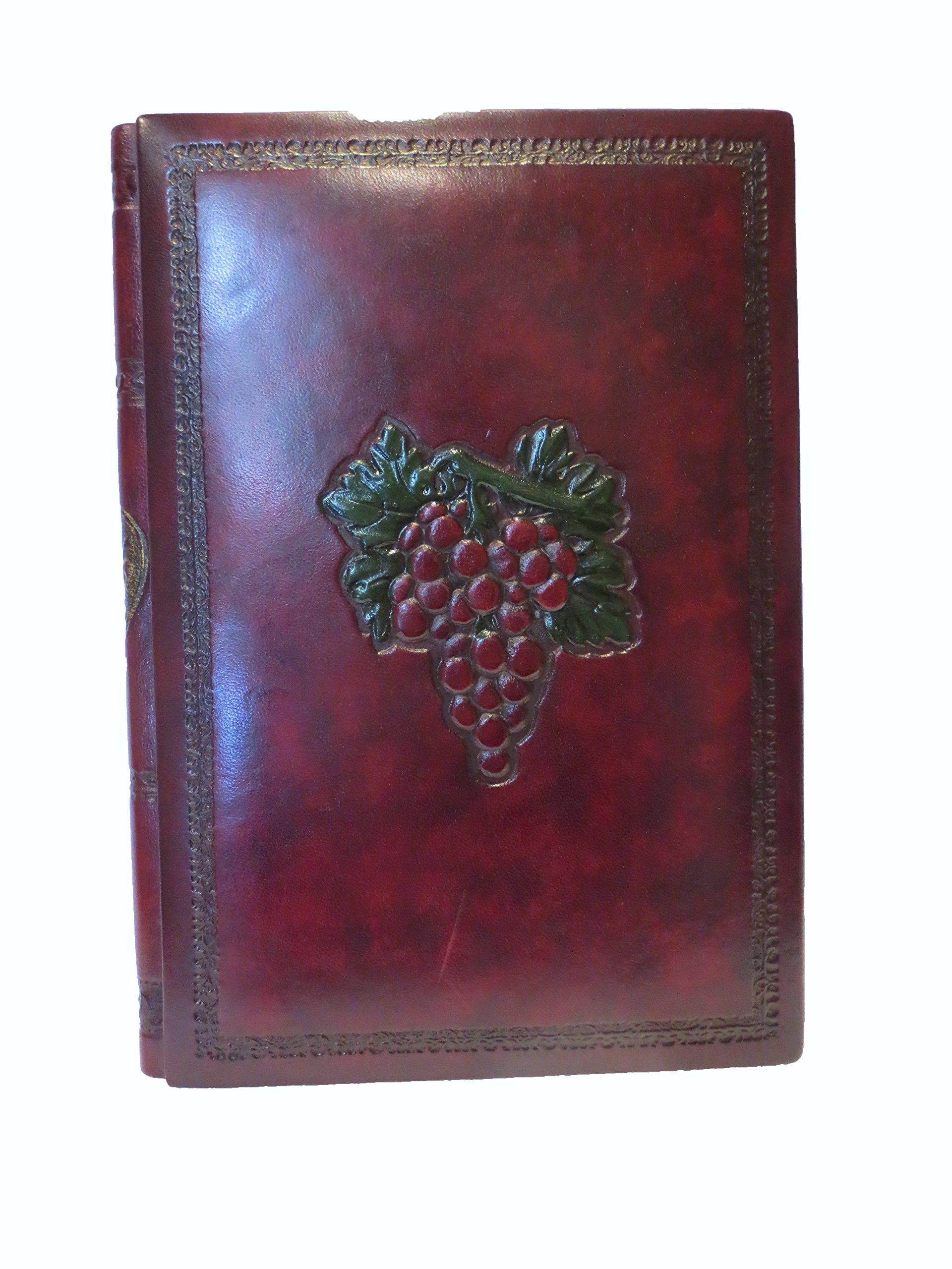 Fiorentina 7'' x 9.5'' Bordeaux Wine Journal