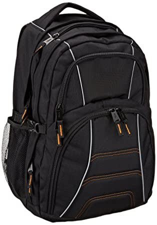 Amazon.com: AmazonBasics Backpack for Laptops up to 17-inches ...