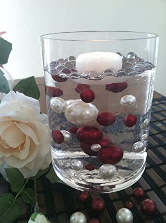 Amazon Vase Filler Pearls For Floating Pearl Centerpiece 50