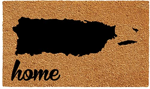 Calloway Mills 105492436 Puerto Rico Doormat, 24 x 36 , Natural Black